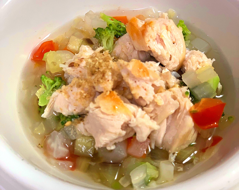ササミと野菜スープ